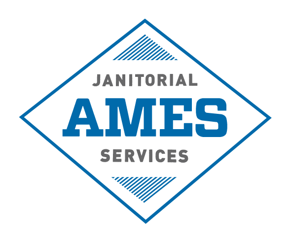 Ames Janitorial Services' logo